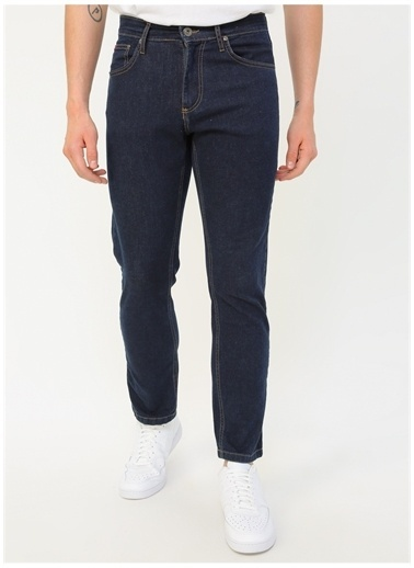 Lee Cooper Lee Cooper  Koyu Mavi Denim Pantolon Renksiz